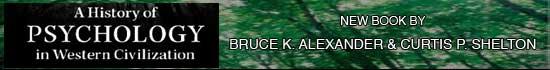 History of Psychology by Bruce K. Alexander
